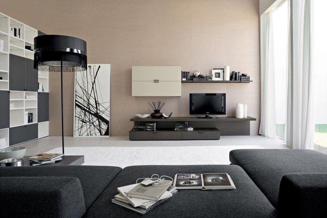 20 Bachelor Pad Living Room Ideas For Men Masculine Designs 00030 Ideas For House Ren Dark Grey Living Room Brown Living Room Decor Black Sofa Living Room