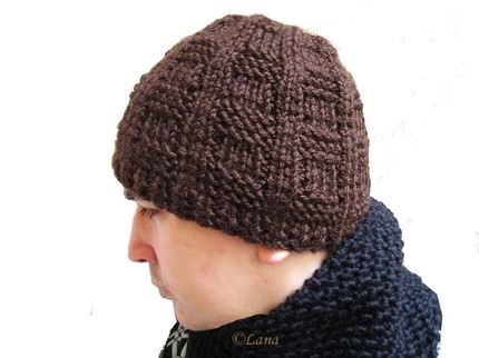 Mens Knitted Hat Patterns : mens knitted hat patterns free Lana creations My ...