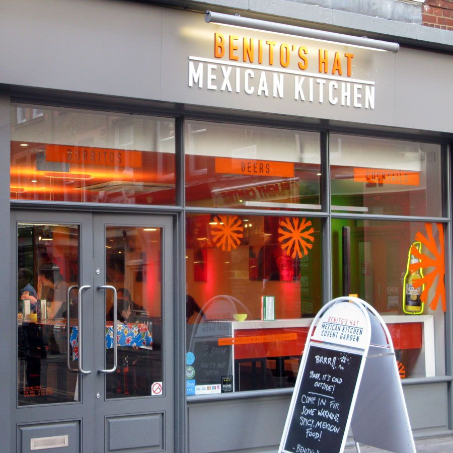 Benito S Hat On New Row Covent Garden The Goodge Street One Isn T Quite As Good This Is The Best Burrito In Lo Best Burrito Coffee Shop Mexican Kitchens