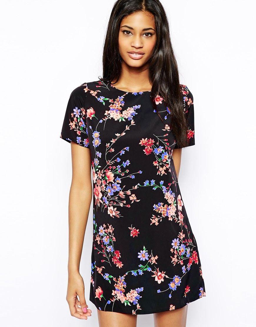 Bonitos vestidos casuales estampados   Dress   Pinterest