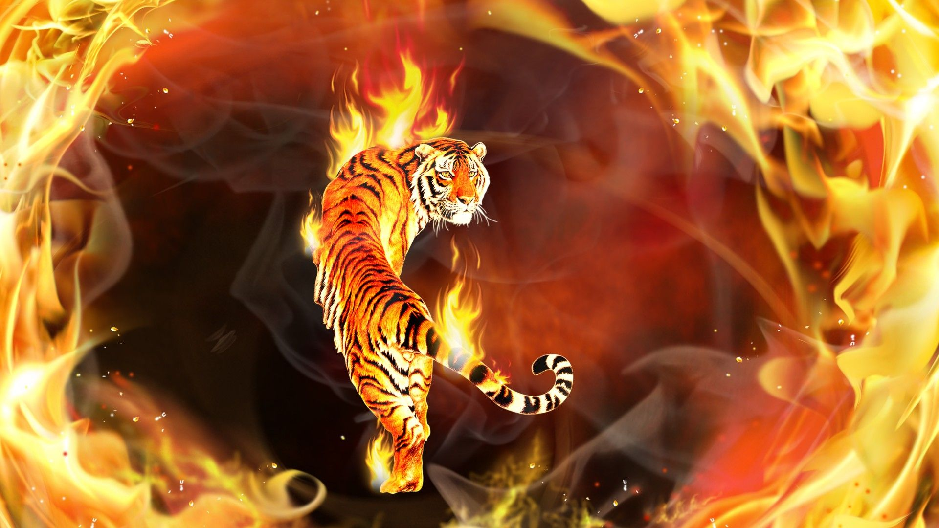 Fire and ice fractal abstract wallpaper hd wallpapers - Images About Wallpaper Screensaver On Pinterest Abstract 1920 1080 Tiger Wallpapers Free 56 Wallpapers