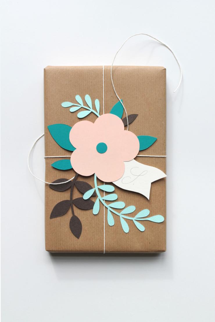 Ideas para envolver regalos via la bici azul - Ideas para envolver regalos navidenos ...
