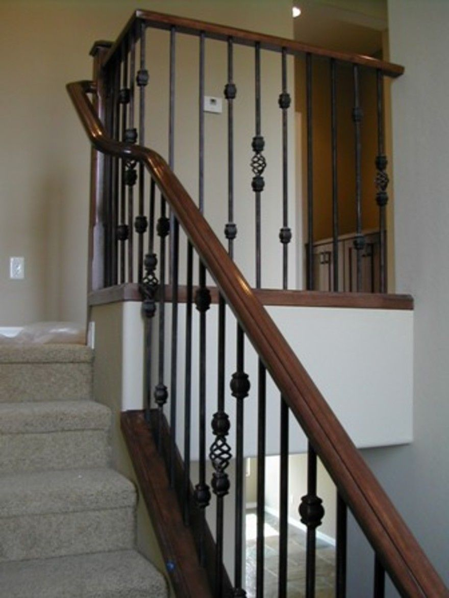 Best Wrought Iron Stair Hand Railing Wrought Iron Stair 400 x 300