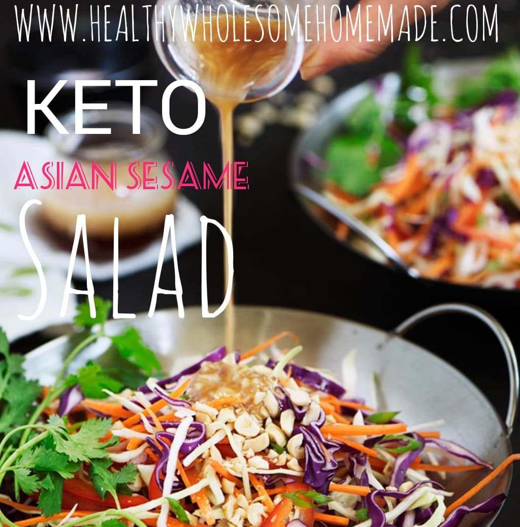 KETO Asian Sesame Salad