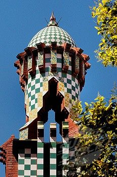 Casa Vicens. Antoni Gaudi. 1883 - 1885. Barcelona, Spain.