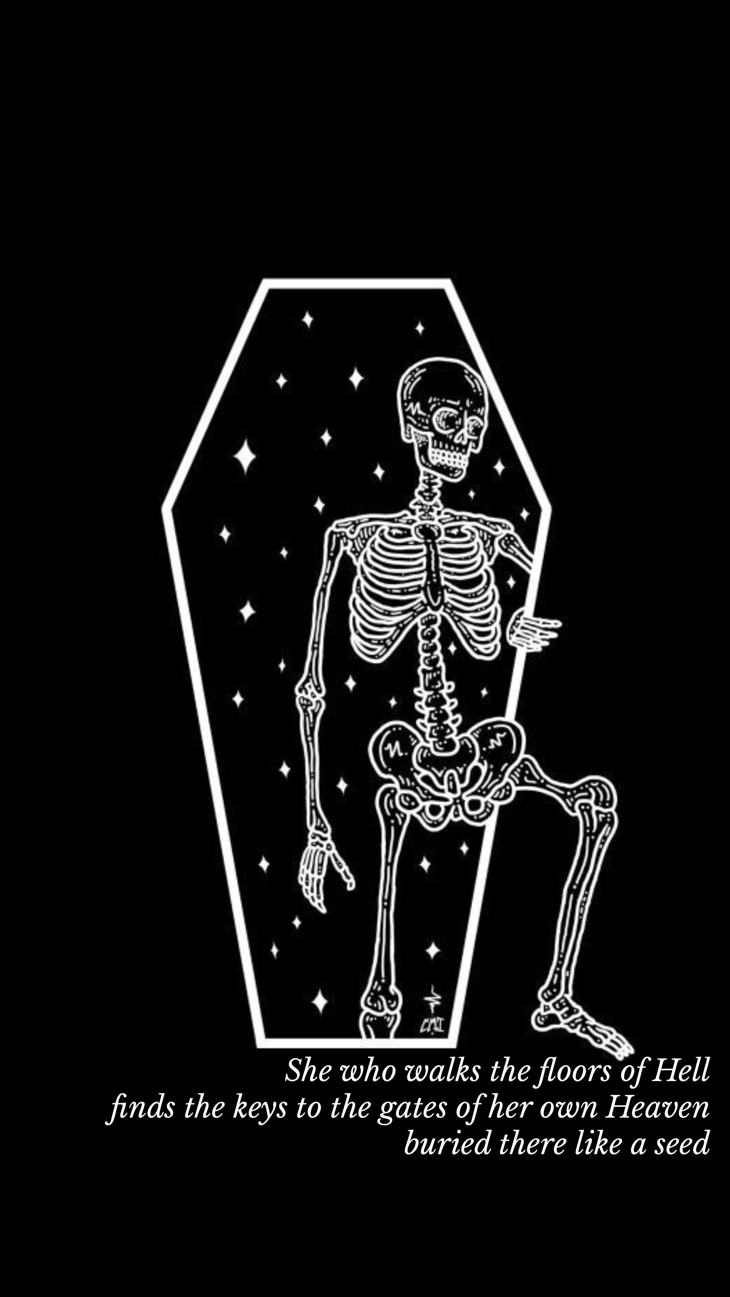 Pin By Alexa Jacinto On Wallpapers Skeleton Art Skull Art Iphone Wallpaper