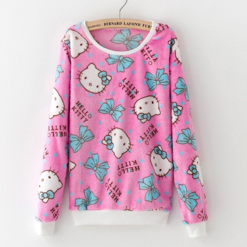 Hello Kitty Wool Pullover Totemo Kawaii Shop Ladies