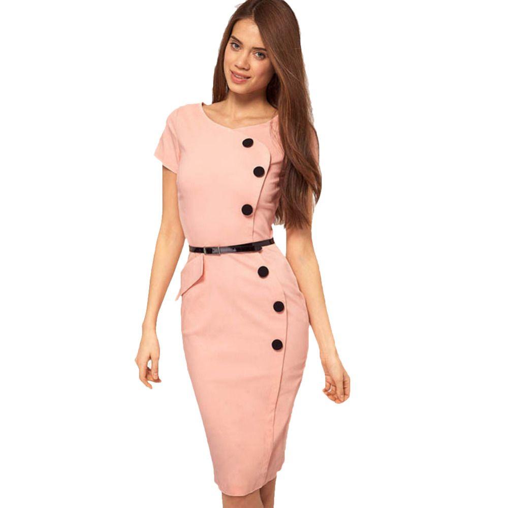 e790ab0f31822 Oxiuly Plus Size Classic Blue Elegant Womens Short Sleeve Empire ...