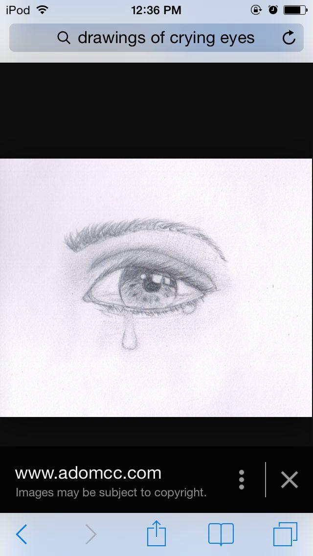 crying eye