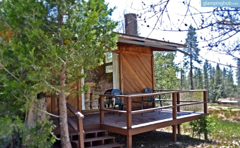 Pet Friendly Duplex Cabin Overlooking Fern Valley For Luxury Camping Stay In Idyllwild California Luxury Camping Luxury Cabin Cabin