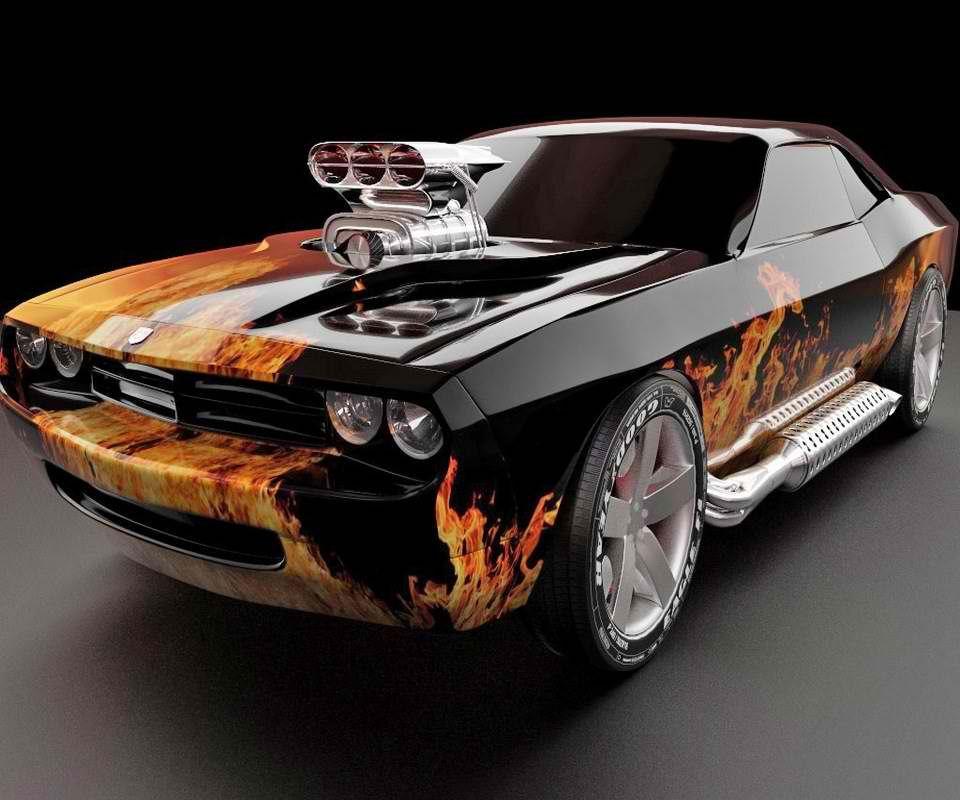 Dodge Flame Job !