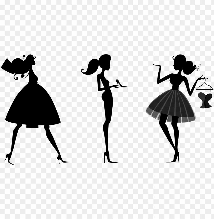 Fashion Silhouette Transparent Background Fashion Logo Png Image With Transparent Background Png Free Png Images Fashion Logo Black Background Images Transparent Background