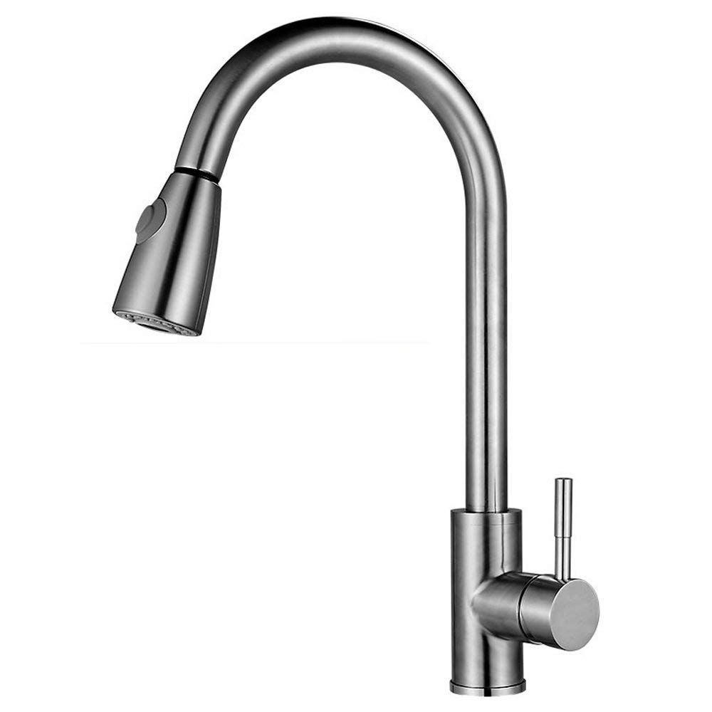 Pull Down Kitchen Faucet Luxhomespace Kitchen Sink Faucet With
