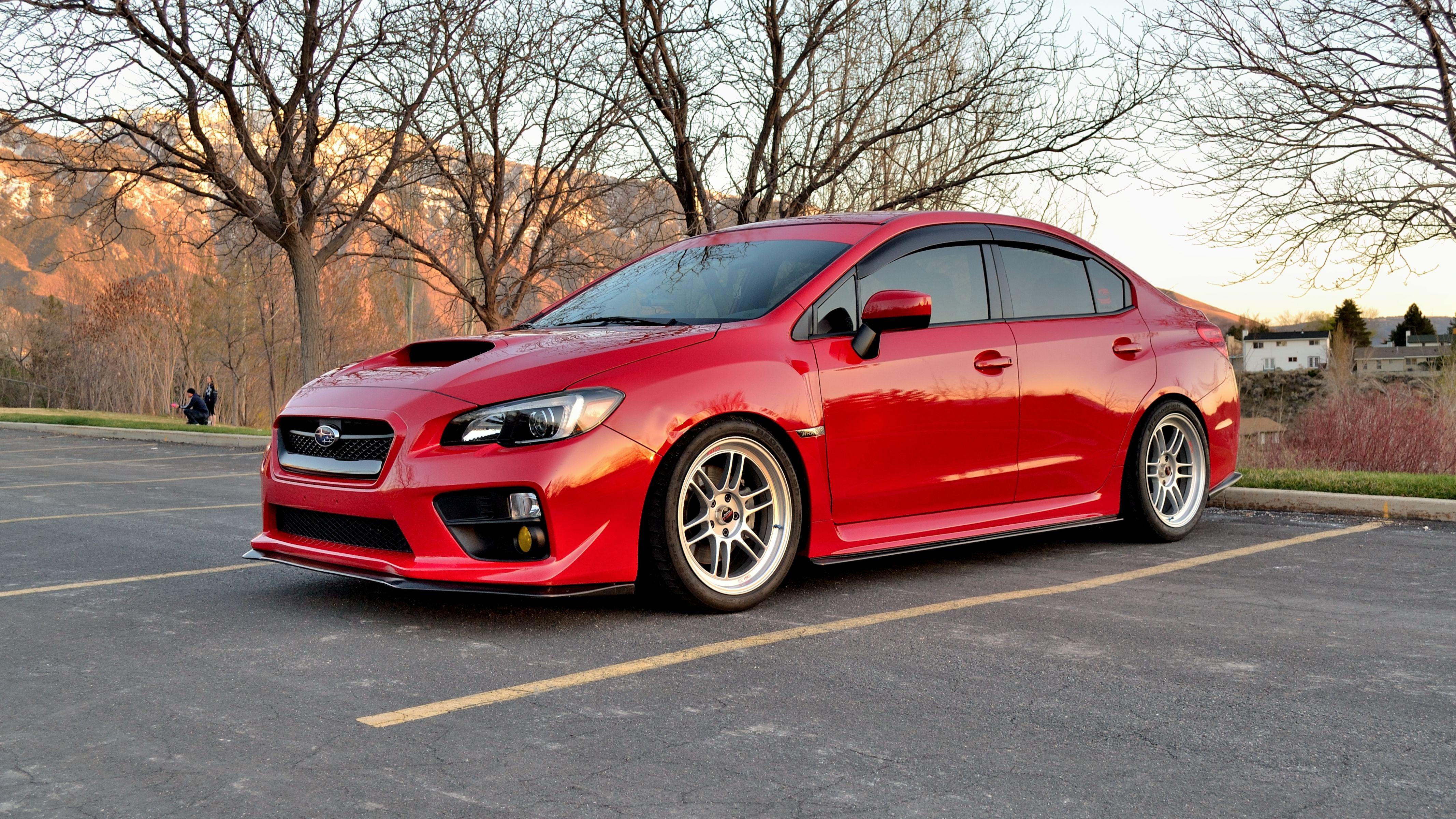 subaru wrx 2016 red. 2015 subaru wrx hard parker ht autos lip kit added lightning red sashawrx wrx 2016