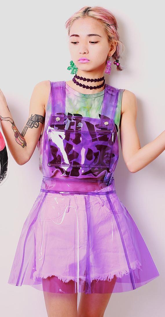6fbdab67245 15%OFF !! NEON Alien overalls Skirt in 2019