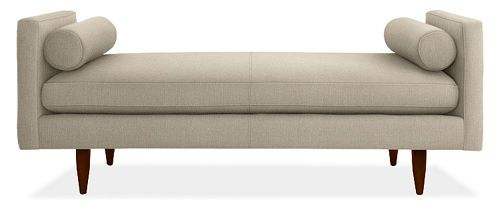 Backless Sofa Or Daybed Love This Can I Use Ana White S Plan For A Slipper Chair To Make