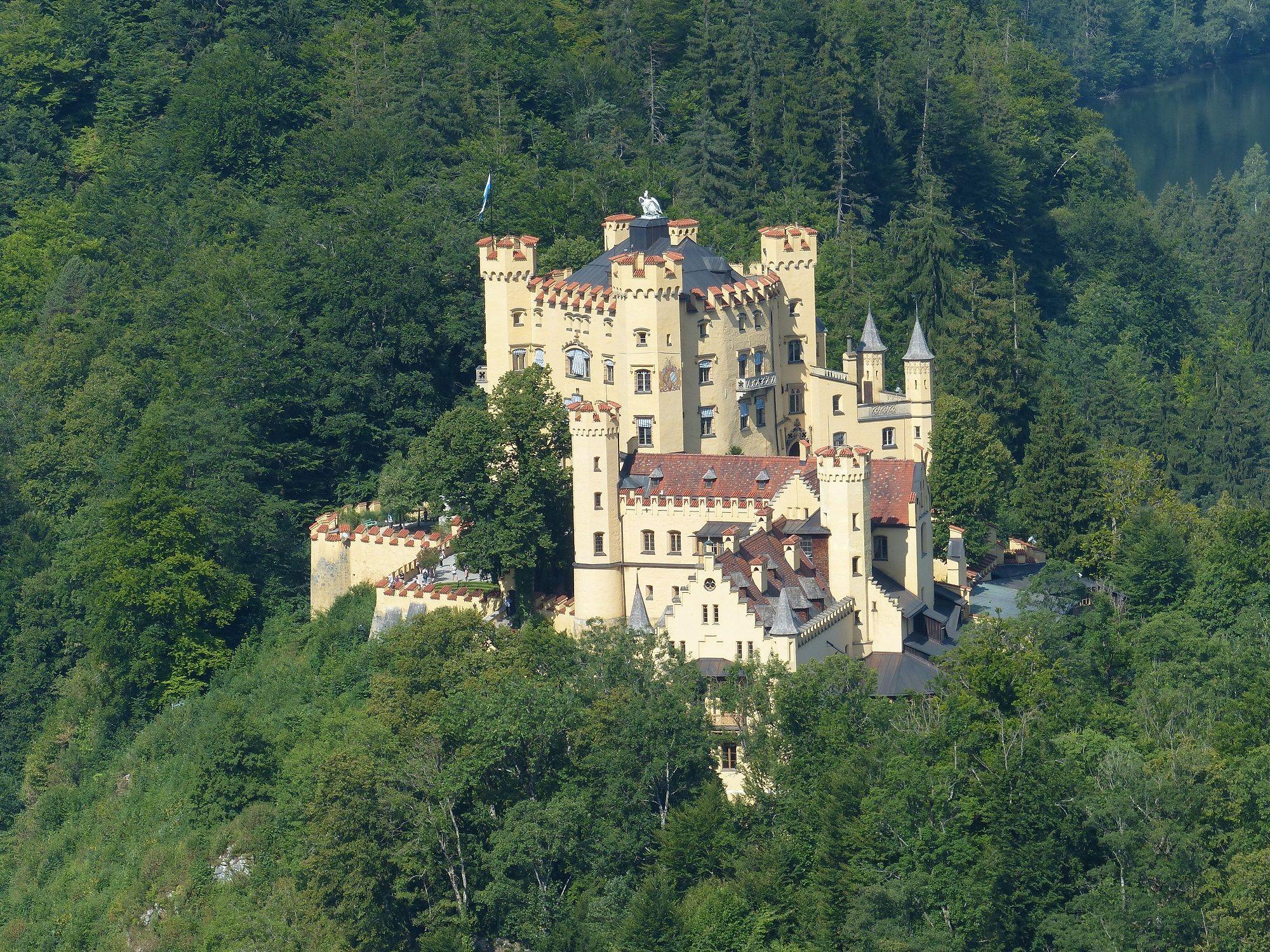Schloss Hohenschwangau Schwangau Bayern