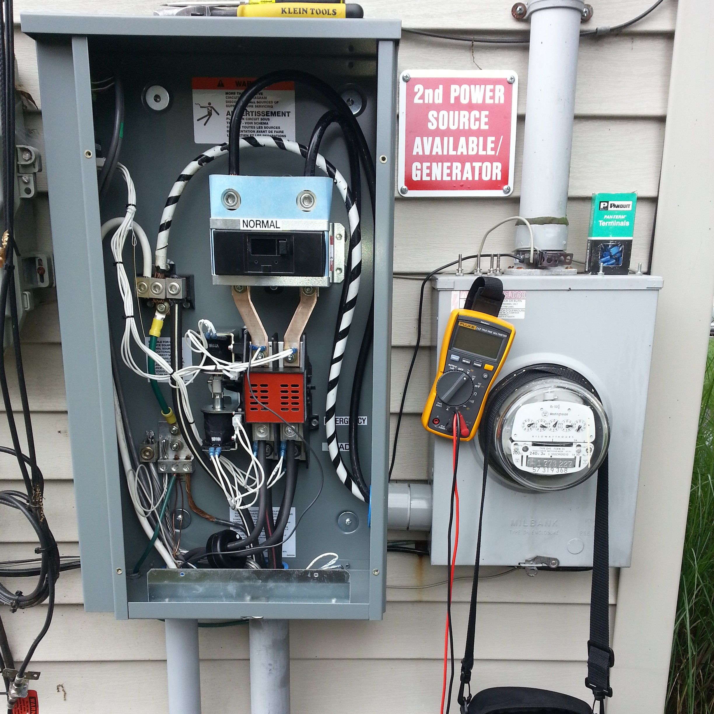 [FPER_4992]  Whole House Automatic Transfer Switch Transfers power from Utility to  Generator. 201.447.0095 | Generator installation, Generator shed, Transfer  switch | Wiring Whole House Generator |  | Pinterest