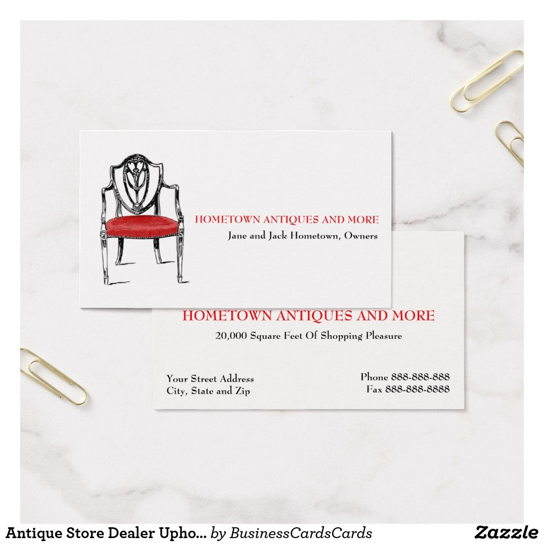 Antique store dealer upholsterer business card custom check out more antique store dealer upholsterer business card custom check out more business card designs at http reheart
