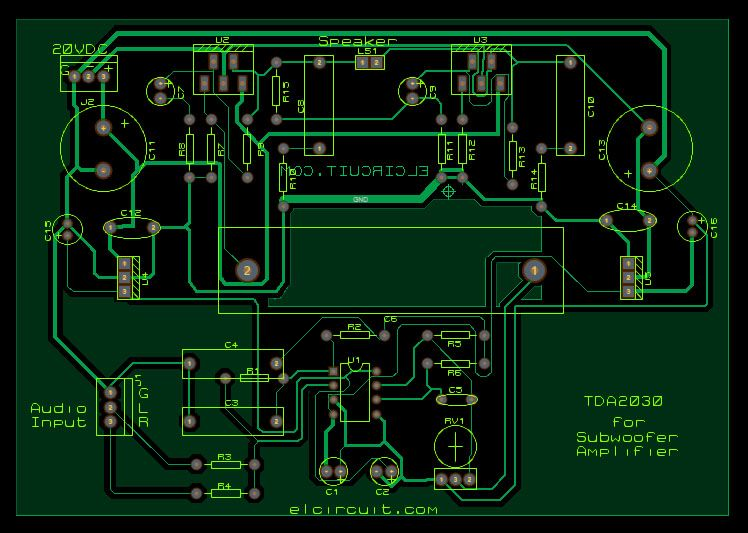 Tda2030 make for subwoofer amplifier circuit tda2030 make for subwoofer amplifier circuit electronic circuit fandeluxe Image collections