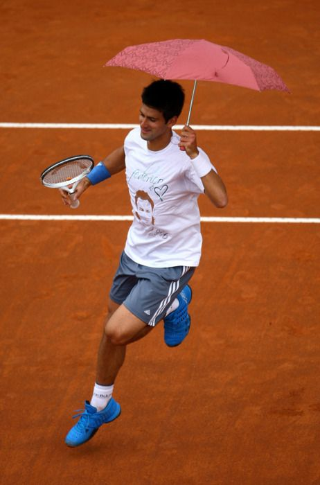 Only Novak could do this..