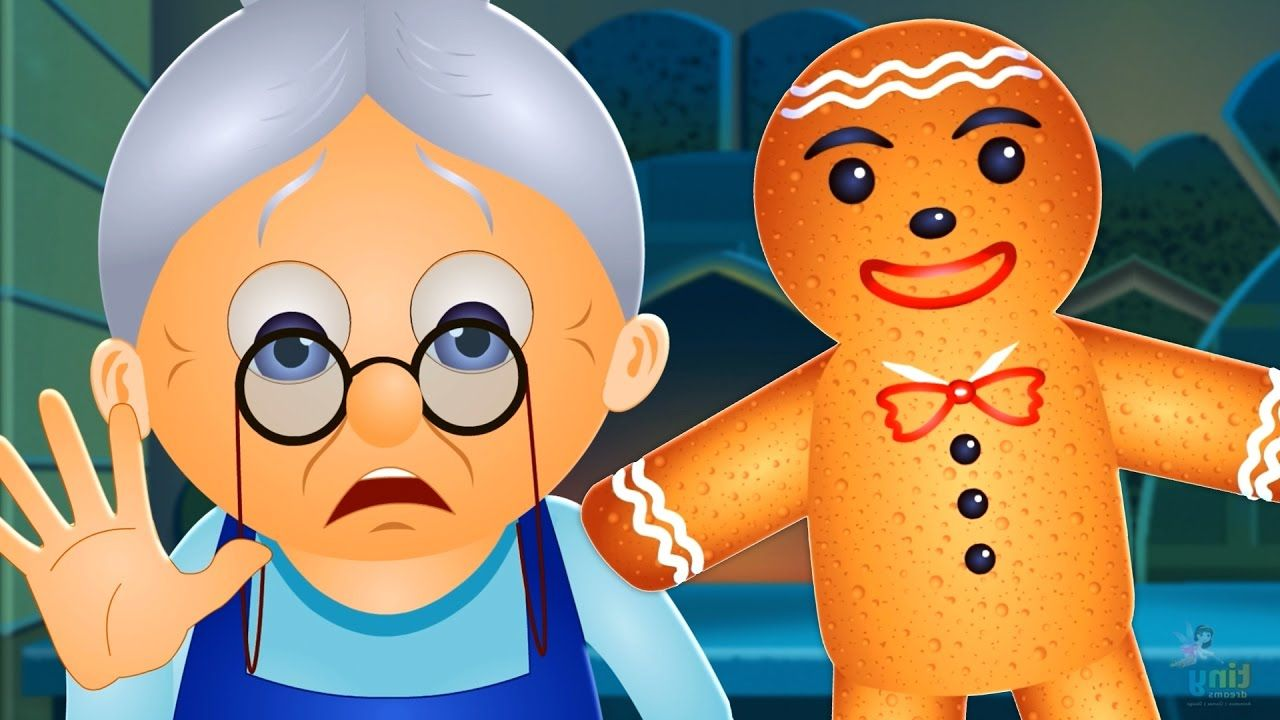 The Gingerbread Man Story Fairy Tales for Children By