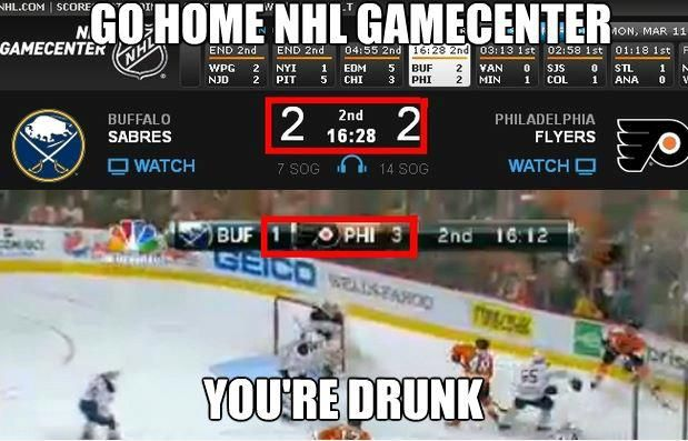 NHL you're drunk