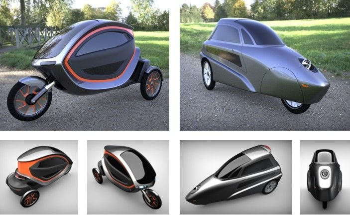 Concepts (cabin-scooter) - WeatherVelo | velomobiles | Pedal cars