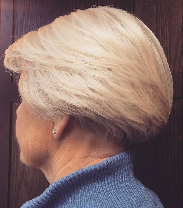 65 Gorgeous Gray Hair Styles Short Wedge Hairstyles Wedge Haircut Hair Styles