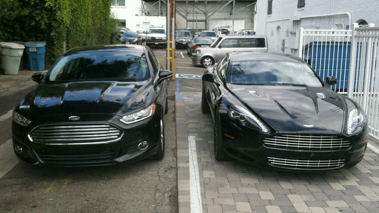 Ford Fusion And The Mothership Aston Martin Same Designer As To