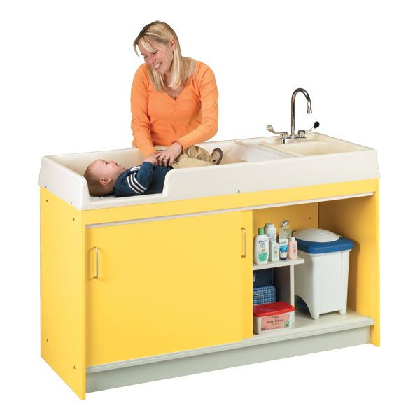 infant changing table w sink daycare