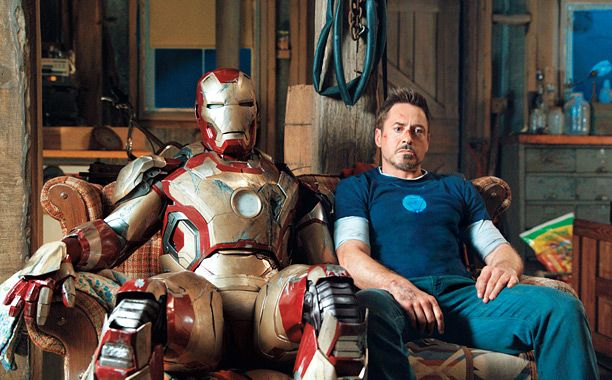 'IRON' GIANT The third installment in the Iron Man series is poised to be both a financial and critical success.