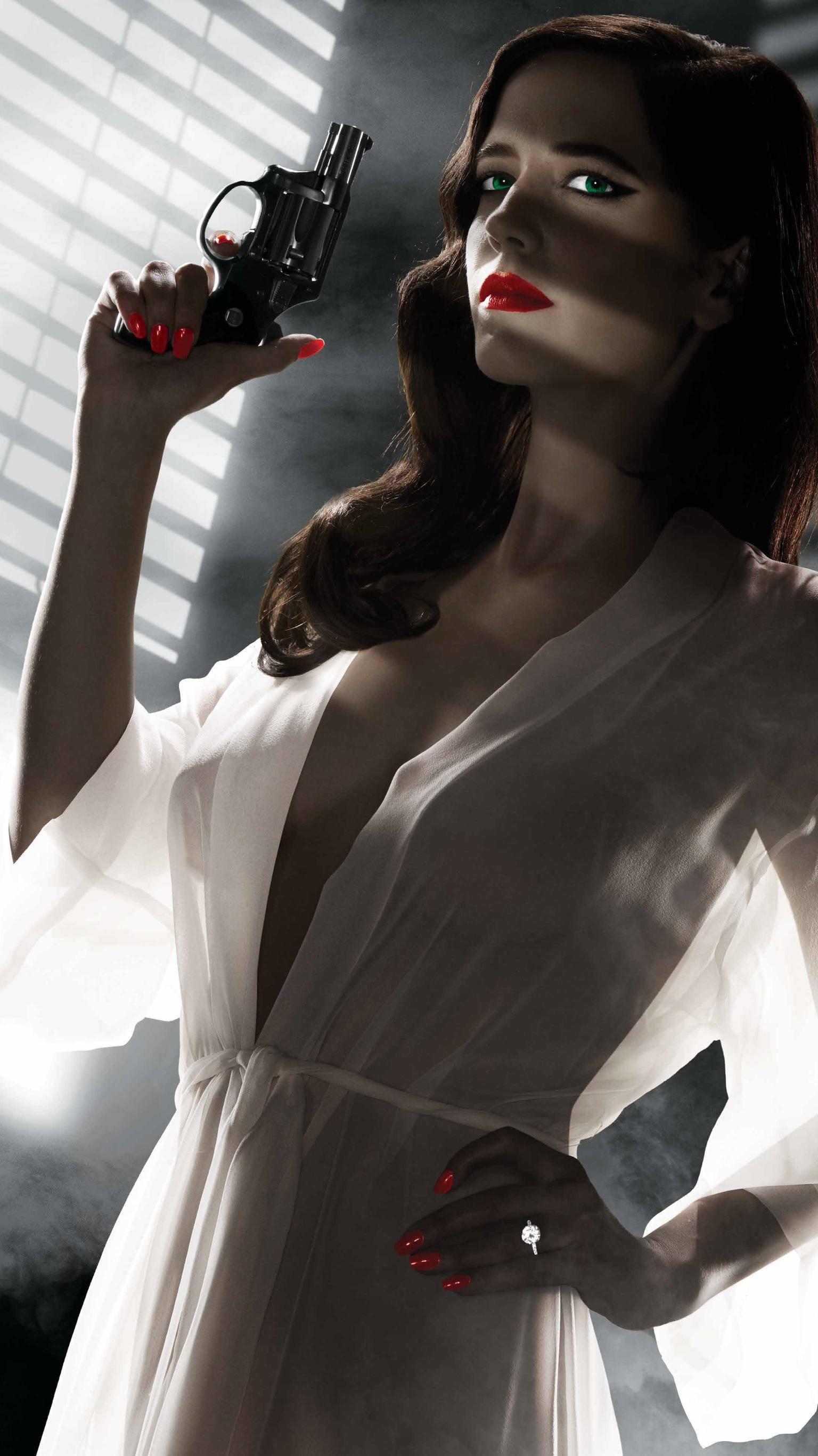 Sin City A Dame To Kill For 2014 Phone Wallpaper Moviemania Eva Green Eva Green Wallpaper Green Poster