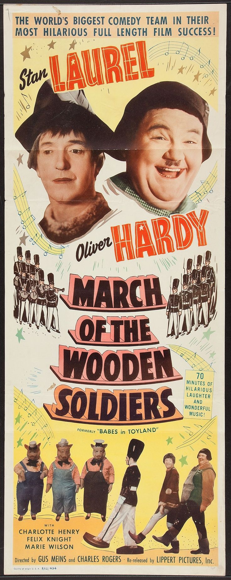 """""""March Of The Wooden Soldiers""""  Christmas (1934)"""