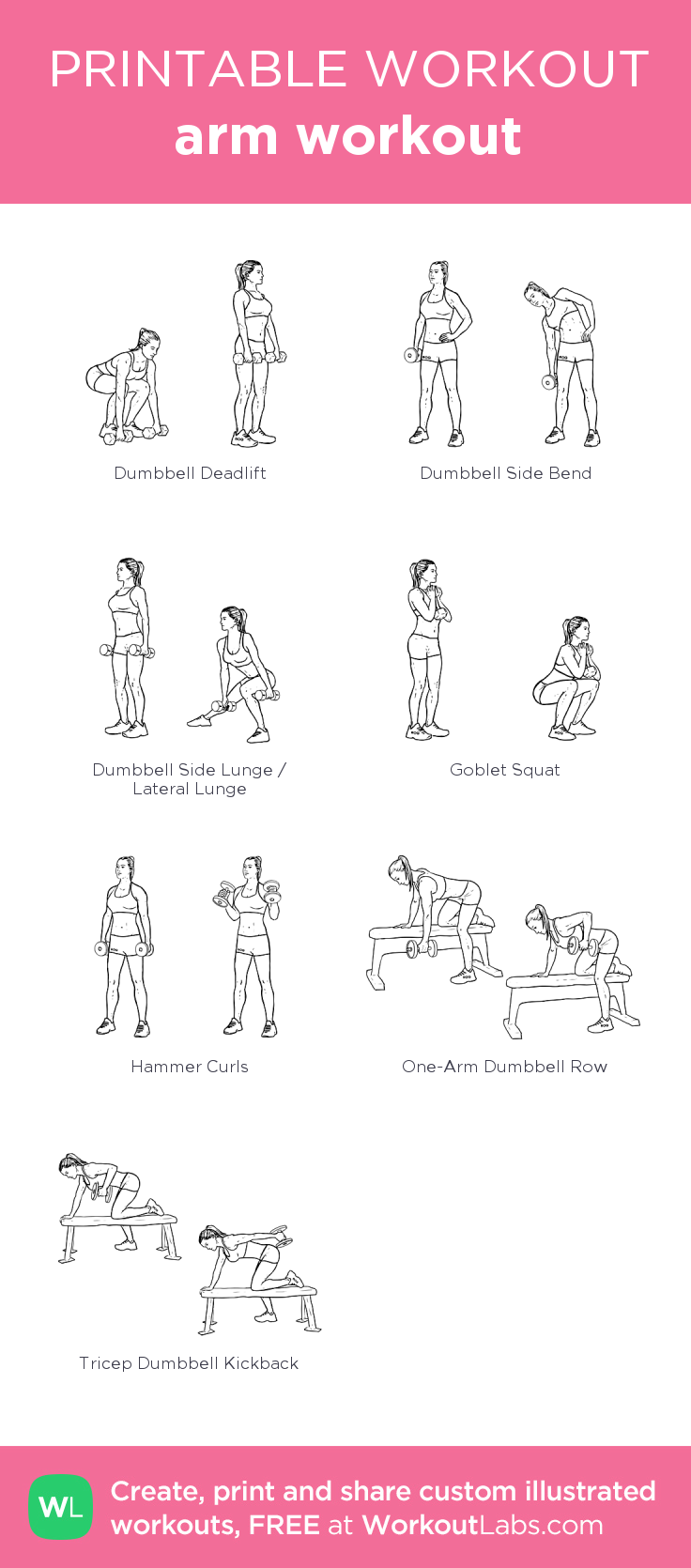 Arm Workout WorkoutLabs Fit