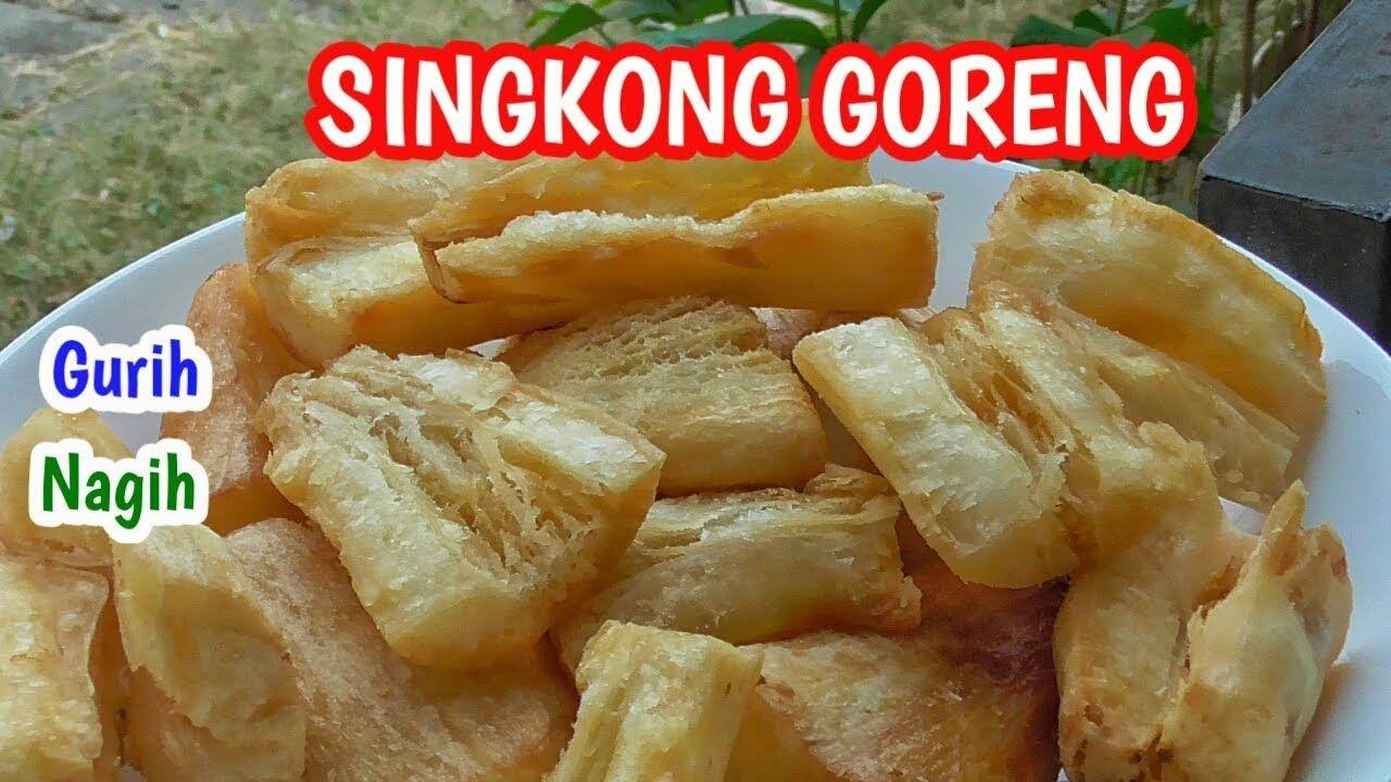 Resep Singkong Goreng Bawang Putih Camilan Sederhana Makanan Resep Camilan