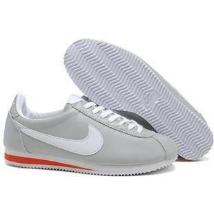 buy online 4385e d6806 ... amazon leather light gray white women nike cortez. nike cortez de  cuerozapatos de mujeres para