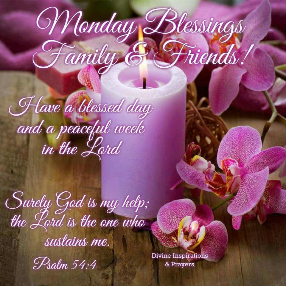 Monday Good Morning God Bless Your Day