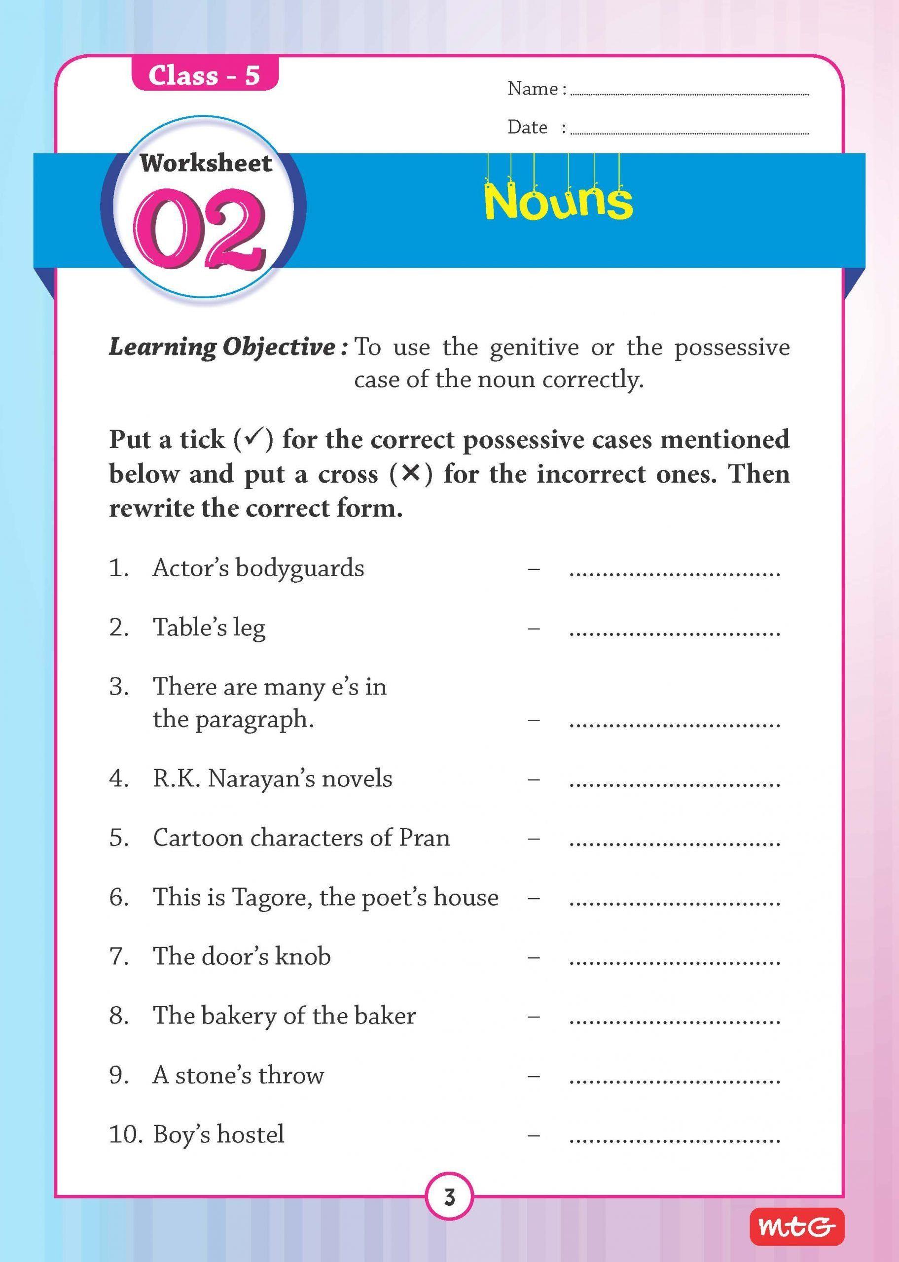 Grammar Worksheet 5th Grade 51 English Grammar Worksheets Class 5 Instant Able Grammar Worksheets English Grammar Worksheets Word Puzzles For Kids