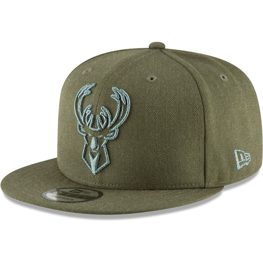 441fcf3b565 Milwaukee Bucks adidas Surface Snapback Adjustable Hat - Gray Black ...