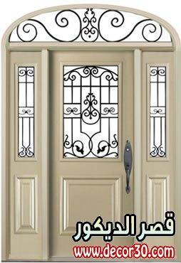 احدث تصاميم ابواب خارجية للمنازل The Latest Designs Of External Doors Of Homes Victorian Front Doors Decor Home Decor Decals