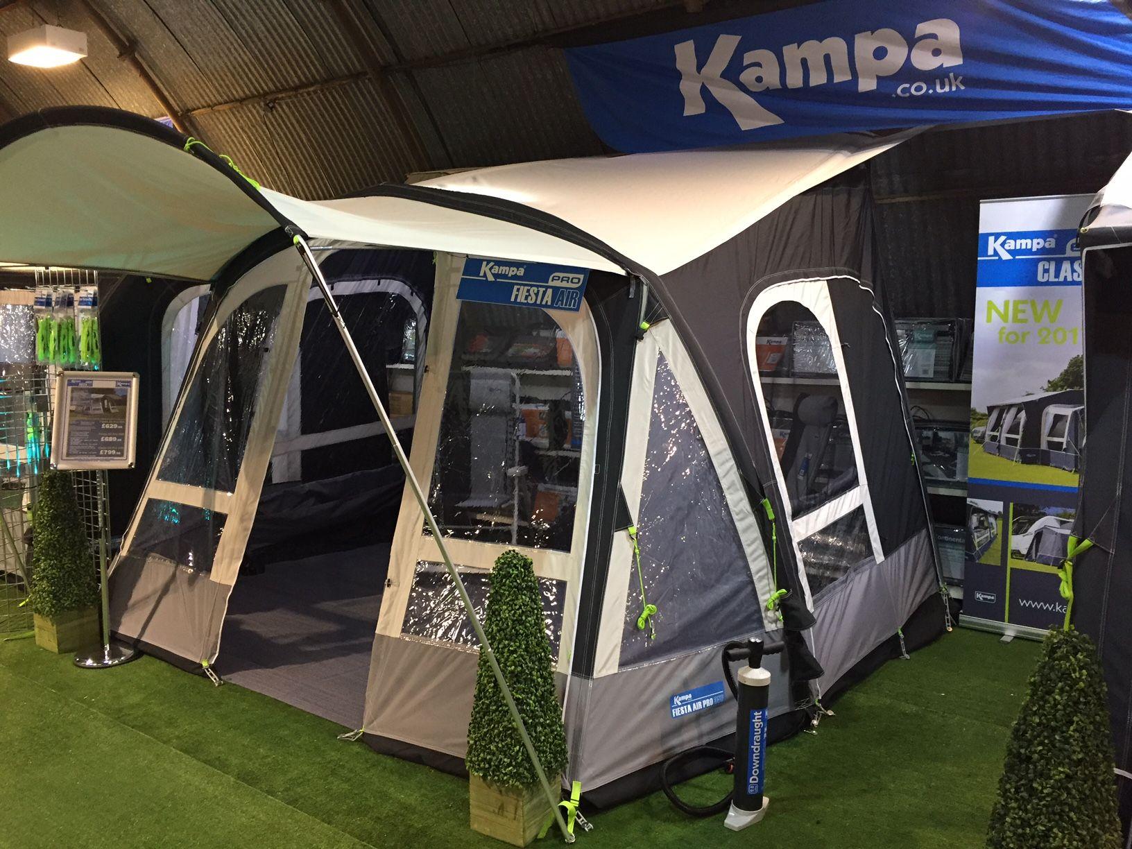 Kampa Fiesta Air Pro Inflatable Caravan Awning 2018 Kampa