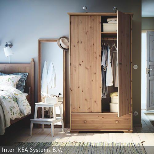 Schlafzimmer Im Landhausstil Ikea Kleiderschrank Ikea