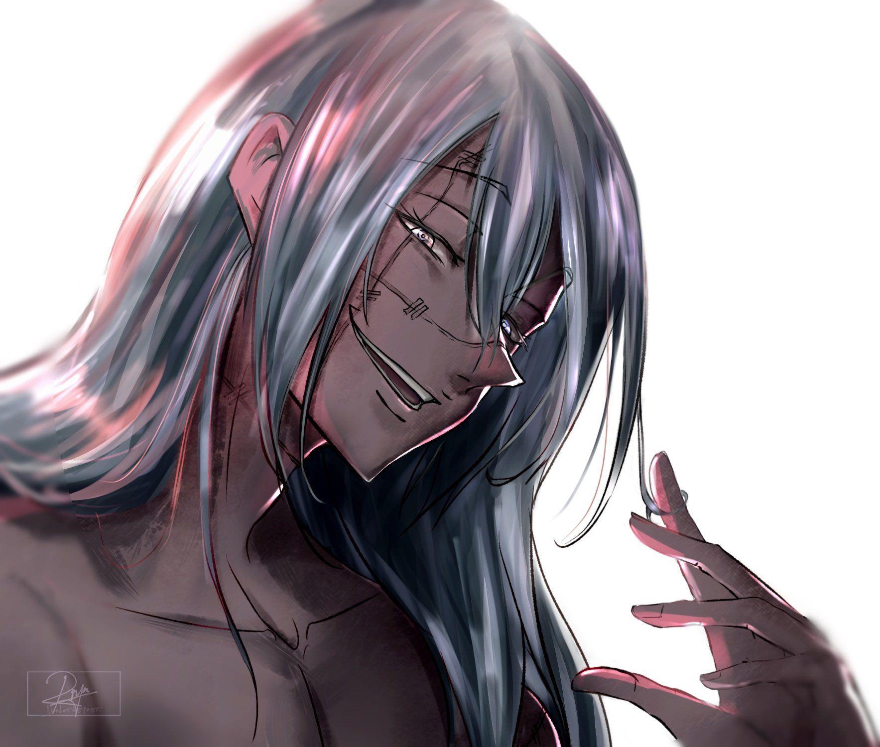 Pin By Yuji Itadori Ryomen Sukuna On Unrealistic Men Jujutsu Anime Guys Handsome Anime Guys