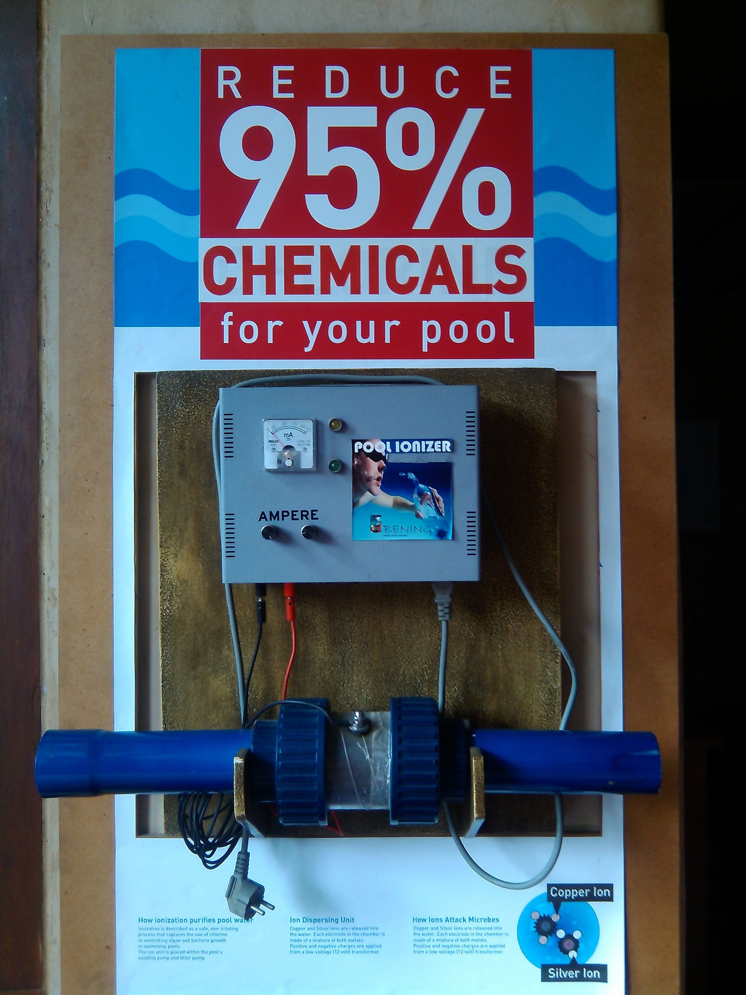 POOL IONIZER. Reduce 95% Chemicals for your pool | Swimming ...
