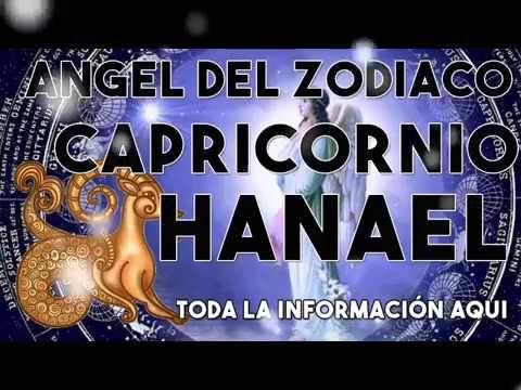 Hanael el ángel de Capricornio