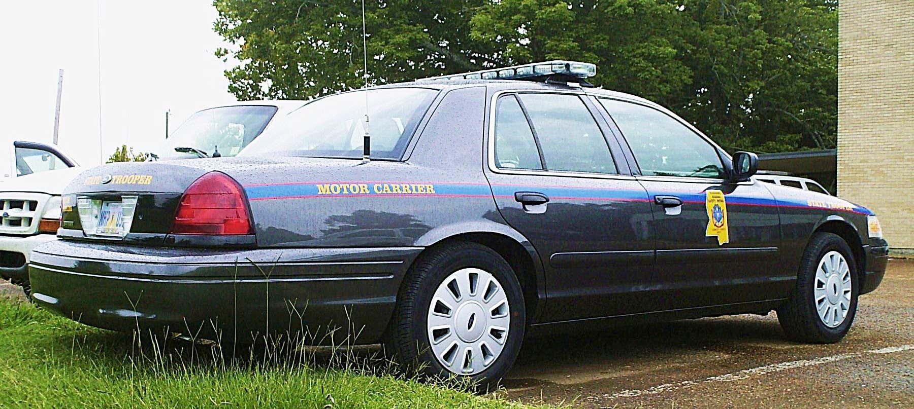 Mississippi License Plate Image Mississippi Highway Patrol
