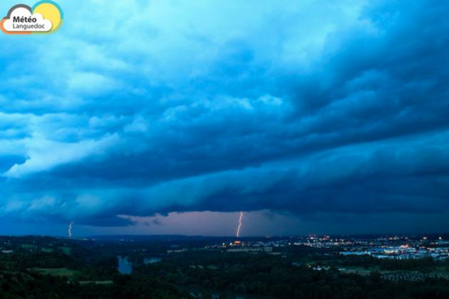 [L'image] Orages : la foudre est tombée sur Toulouse, le 15 juin