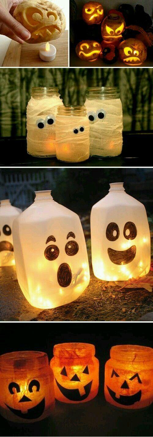 17 Ideas Creativas Para Halloween Que Puedes Hacer Tú Mismo Decoración De Fiesta De Halloween Cosas De Halloween Decoración De Halloween Diy