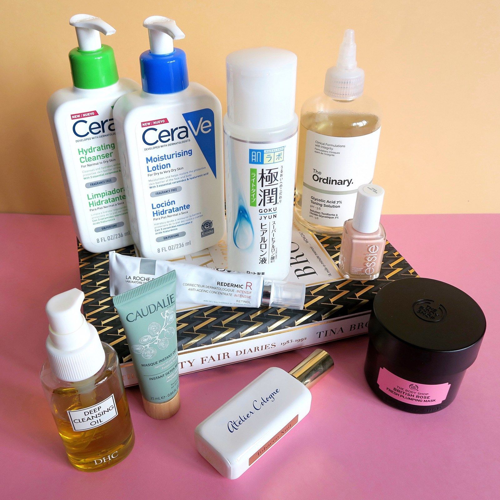 My current skincare routine Products for rosacea